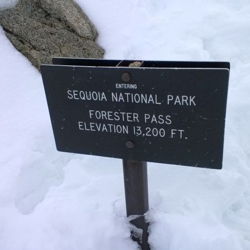 Forester Pass.......