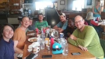 Breakfast at the Pieoneer!