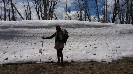 African American thru hiker