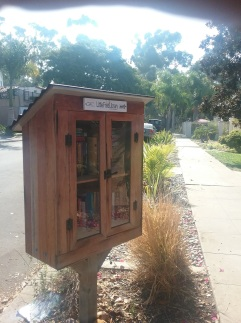 side walk book nook