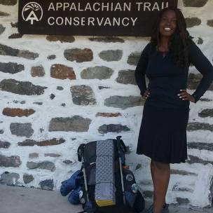 African American hiker Appalachian Trail