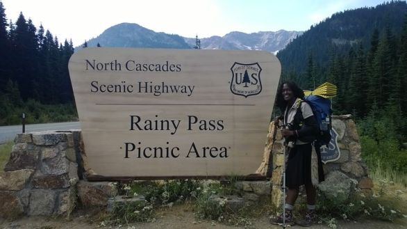 chardonnays PCT thru hike at Rainy Pass