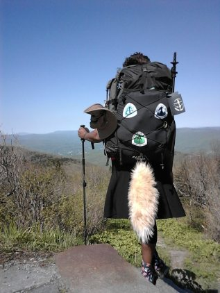 Have tail will hike!