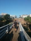 city hike