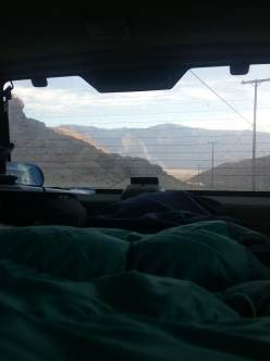 car camping best views